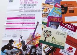 Impresión digital de carteles, folletos, tarjetones, flyers...
