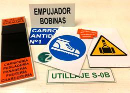 Señalética personalizada para Seguridad Laboral.